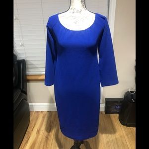 Armani Exchange Paris  beautiful blue dress 14
